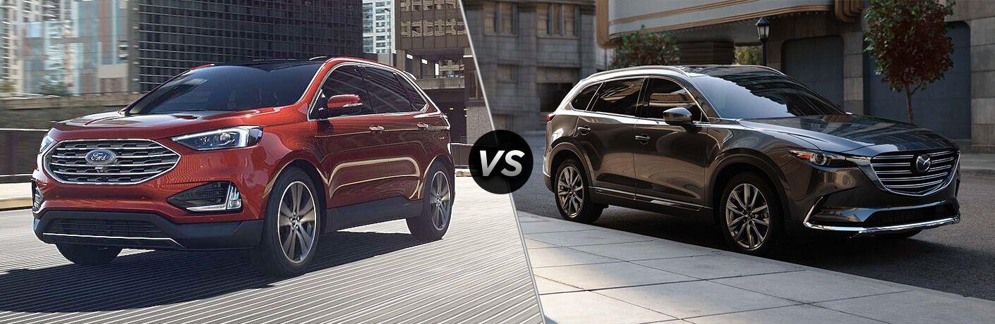 2019 Ford Edge vs 2019 Mazda CX-9