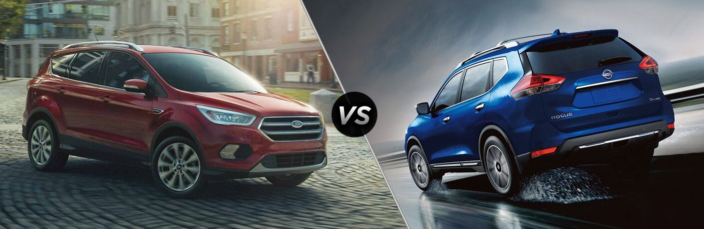 2019 Ford Escape vs 2019 Nissan Rogue Sport