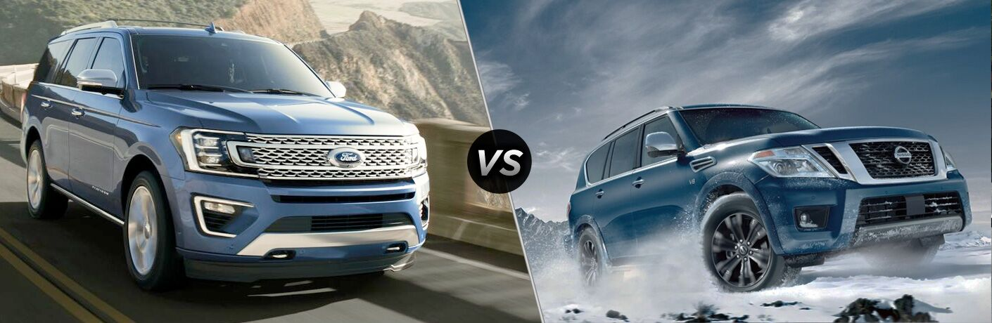 2019 Ford Expedition vs 2019 Nissan Armada