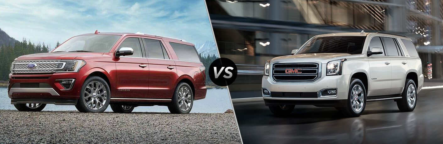 2019 Ford Expedition vs 2019 GMC Yukon