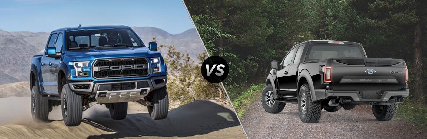 2019 Ford F-150 Raptor vs 2018 Ford F-150 Raptor