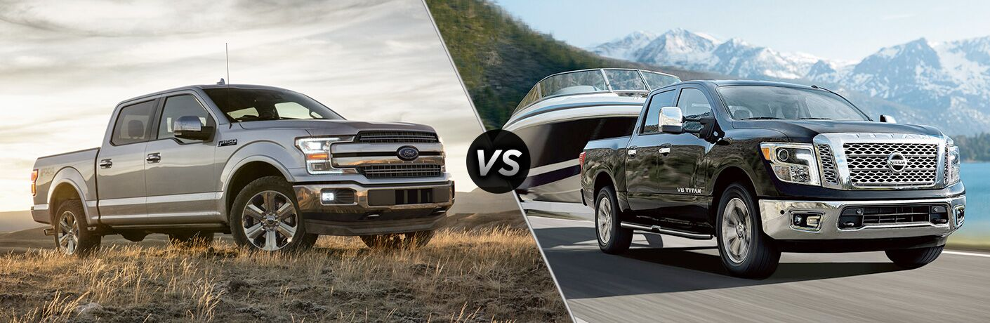 2019 Ford F-150 vs 2019 Nissan Titan