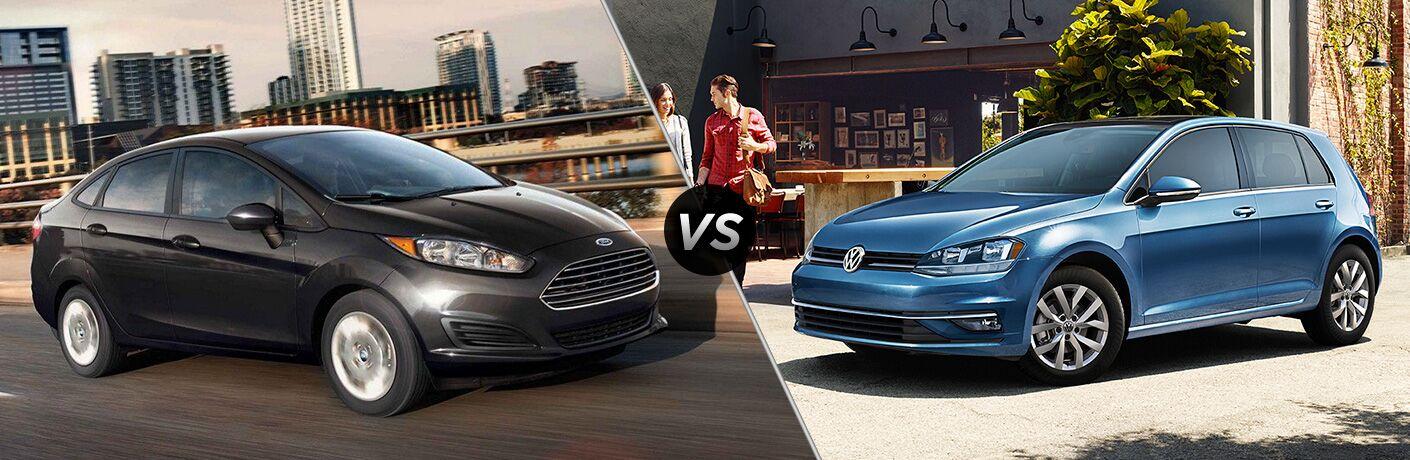2019 Ford Fiesta vs 2019 Volkswagen Golf