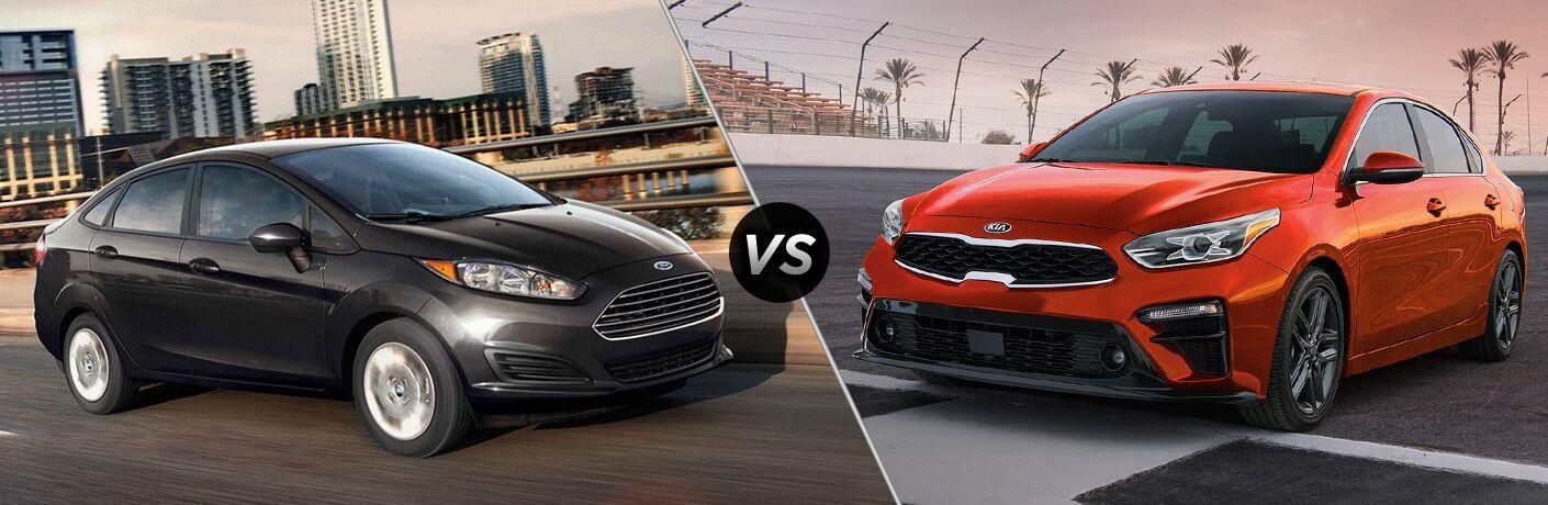 2019 Ford Fiesta vs 2019 Kia Forte