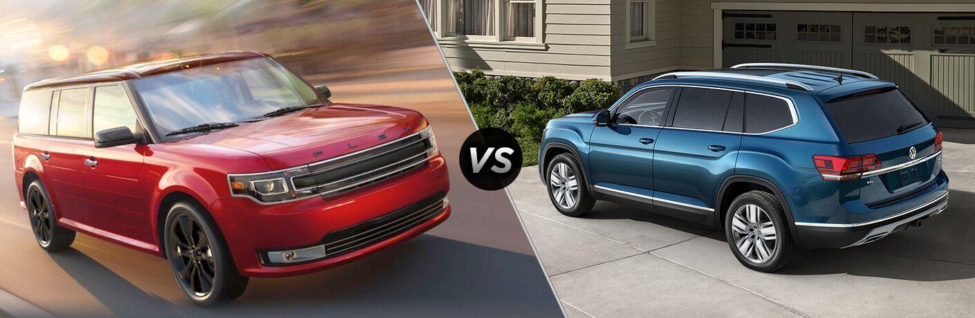 2019 Ford Flex vs 2019 Volkswagen Atlas