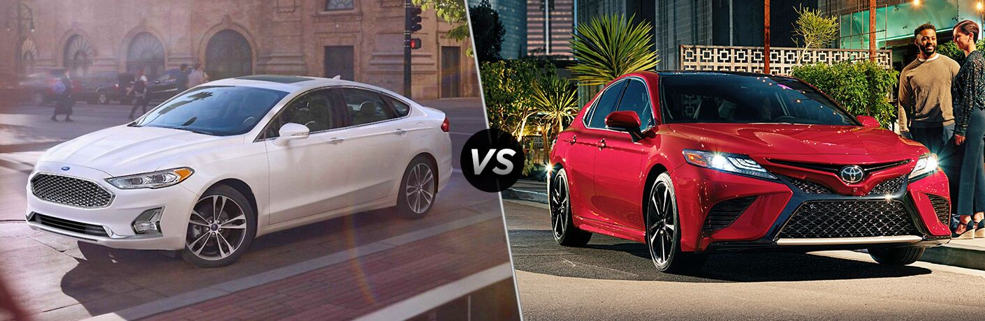 2019 Ford Fusion vs 2019 Toyota Camry