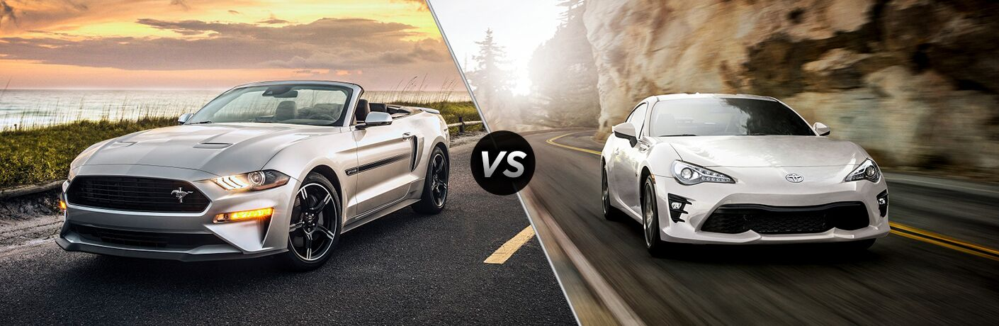 2019 Ford Mustang vs 2019 Toyota 86