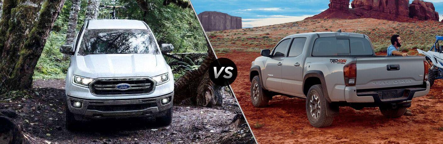 2019 Ford Ranger vs 2018 Toyota Tacoma