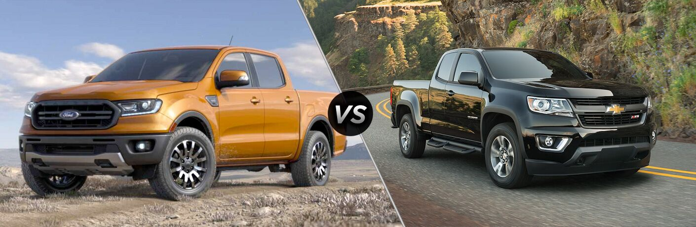 2019 Ford Ranger vs 2019 Chevy Colorado