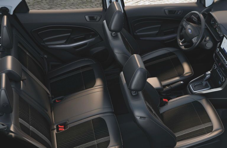 full interior of a 2020 Ford EcoSport