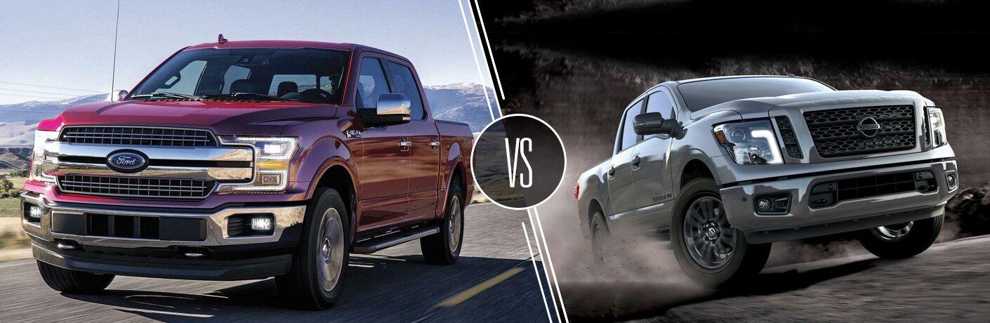 2020 Ford F-150 vs 2020 Nissan Titan