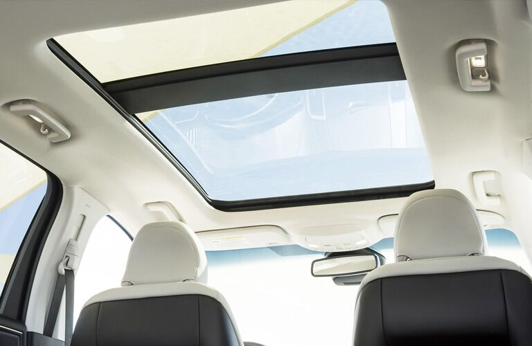 sun roof in a 2021 Ford Edge
