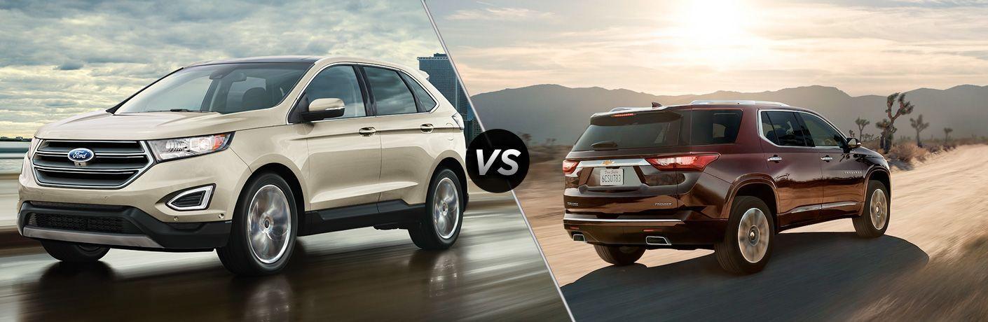 2021 Ford Edge vs 2021 Chevrolet Traverse