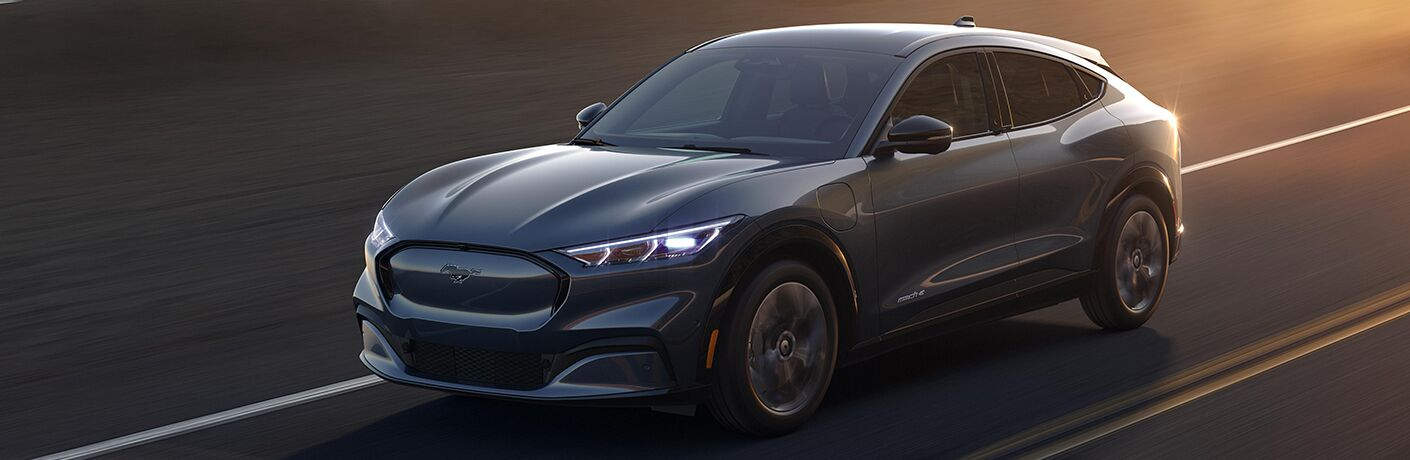 2021 Ford Mustang front