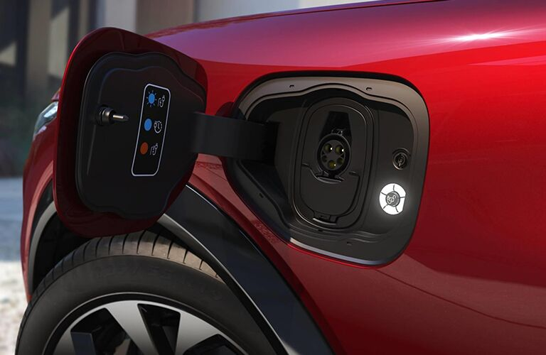 Ford Mustang Charging point