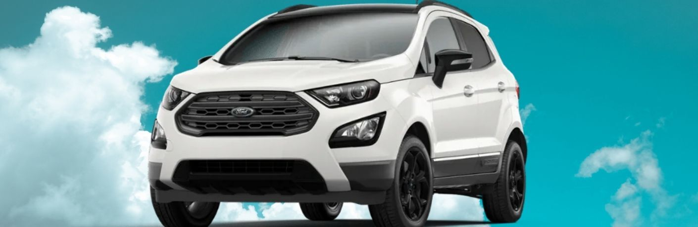 2021 Ford EcoSport SES in white as cover image