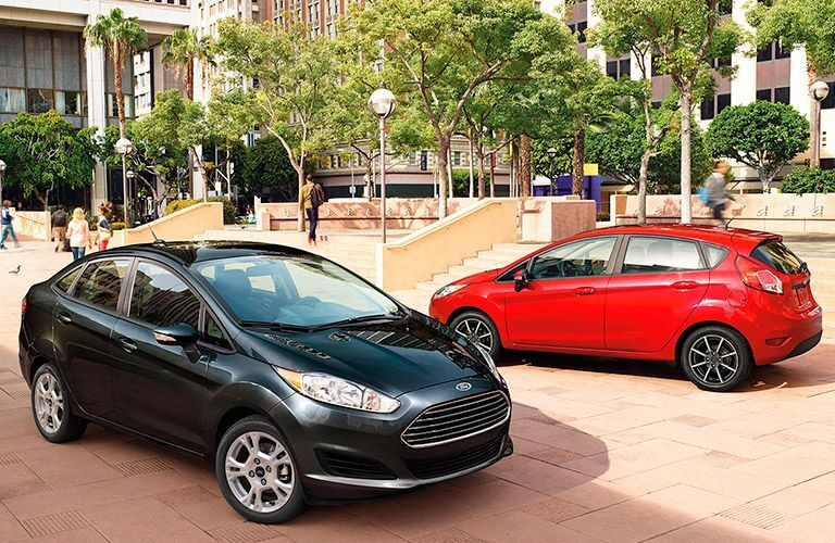two Ford Fiesta models