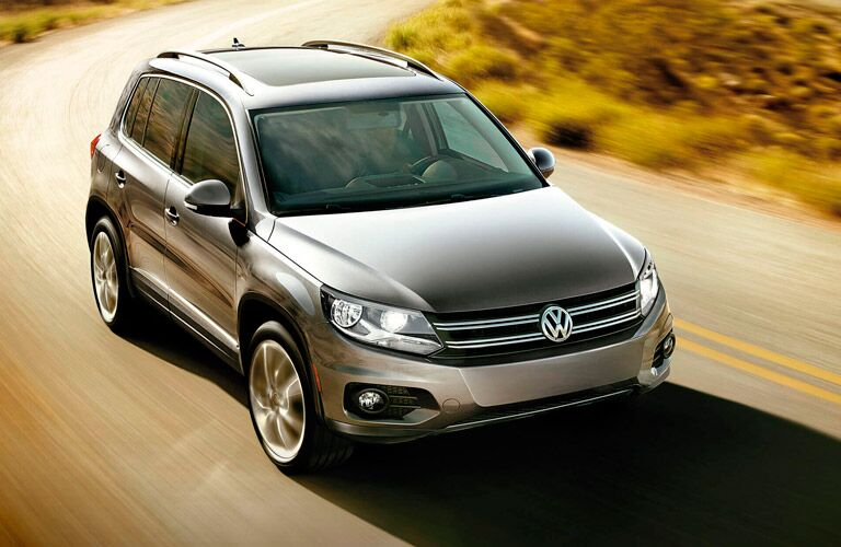 Exterior Silver 2015 Volkswagen Tiguan