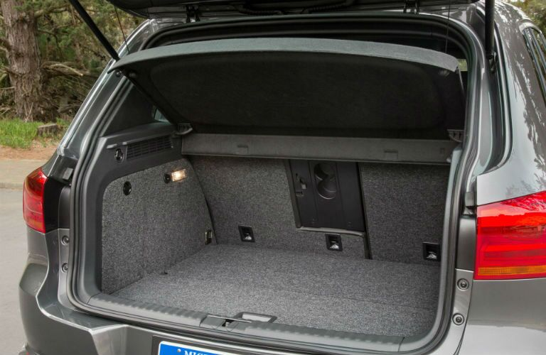 2016 Tiguan Rear Trunk Space
