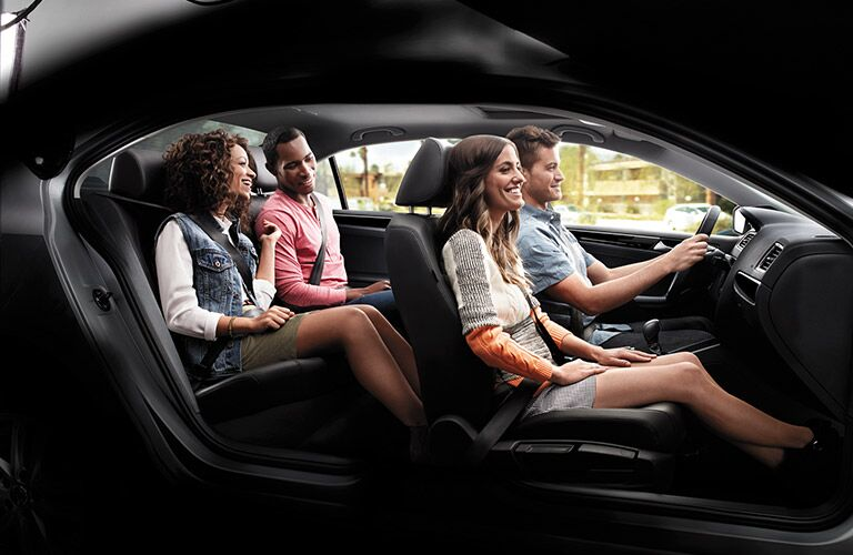 2016 Volkswagen Jetta rear passenger space