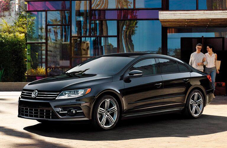 2017 Volkswagen CC black front