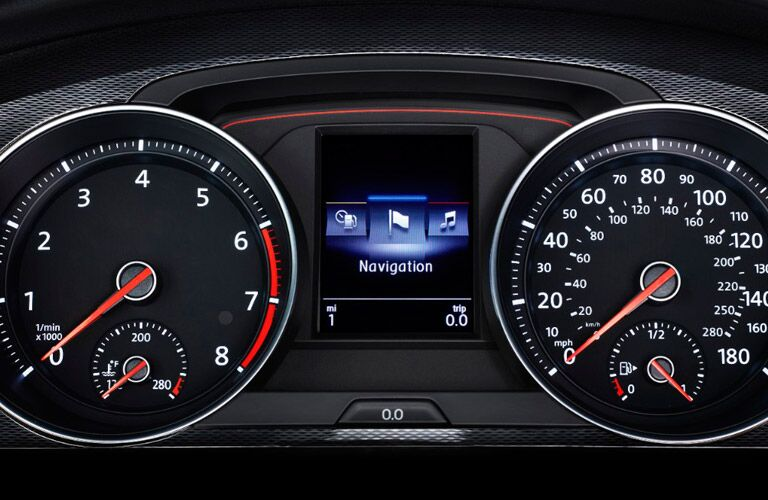 2017 Volkswagen Golf GTI Dashboard Information Center