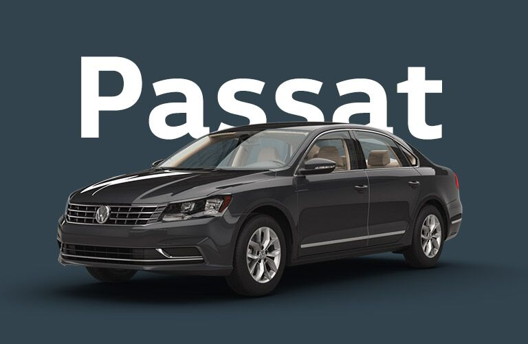 Volkswagen Passat front and side profile