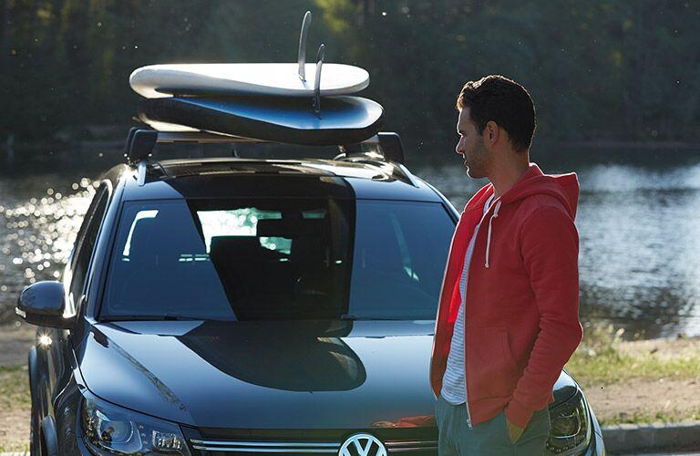 2017 Volkswagen Tiguan roof mounted cargo