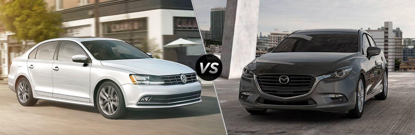 2018 Volkswagen Jetta vs 2018 Mazda3