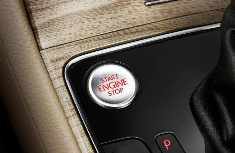 2018 VW Passat engine start stop button