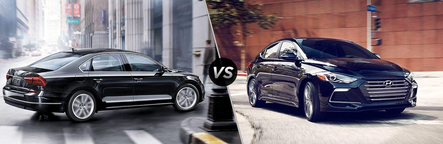 2018 Volkswagen Passat vs 2018 Hyundai Elantra