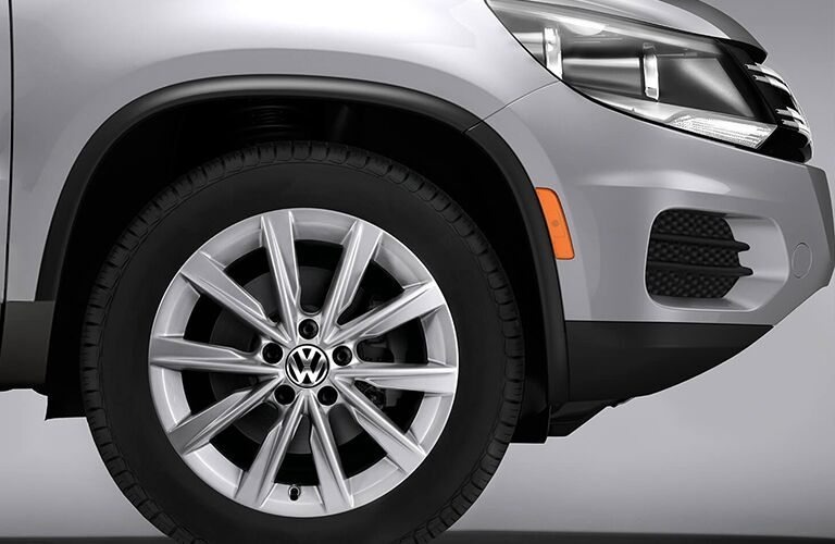 2018 Volkswagen Tiguan Limited wheel