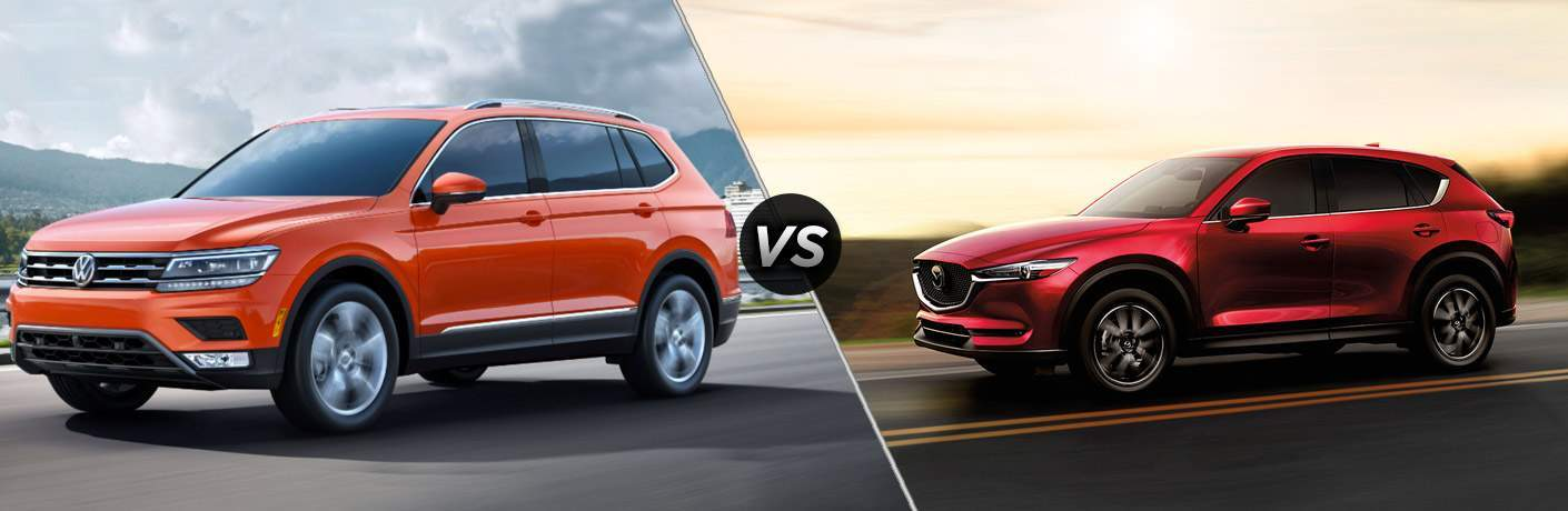 2018 Vw Tiguan Vs 2017 Mazda Cx 5