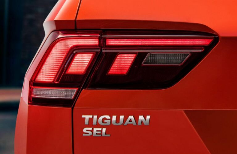 2018 VW Tiguan nameplate redesigned small SUV