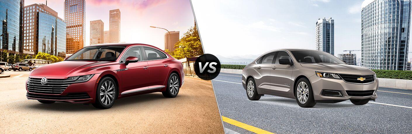 2019 Volkswagen Arteon vs 2019 Chevy Impala