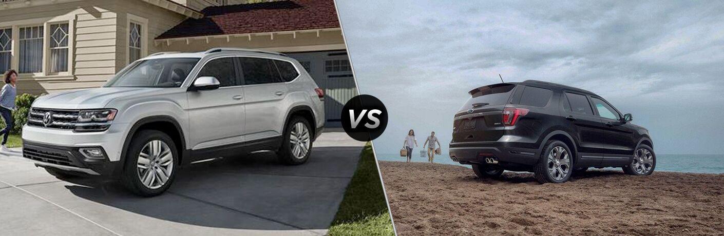 2019 Volkswagen Atlas vs 2019 Ford Explorer