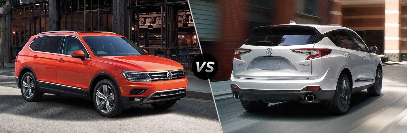 2019 Volkswagen Tiguan vs 2019 Acura RDX