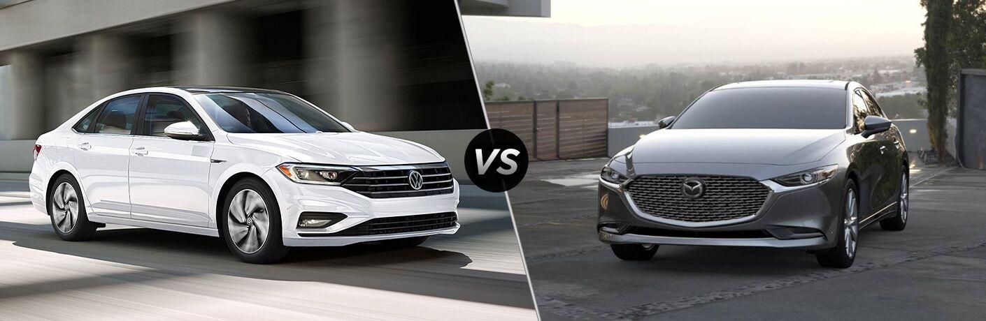 2020 Volkswagen Jetta vs 2020 Mazda3