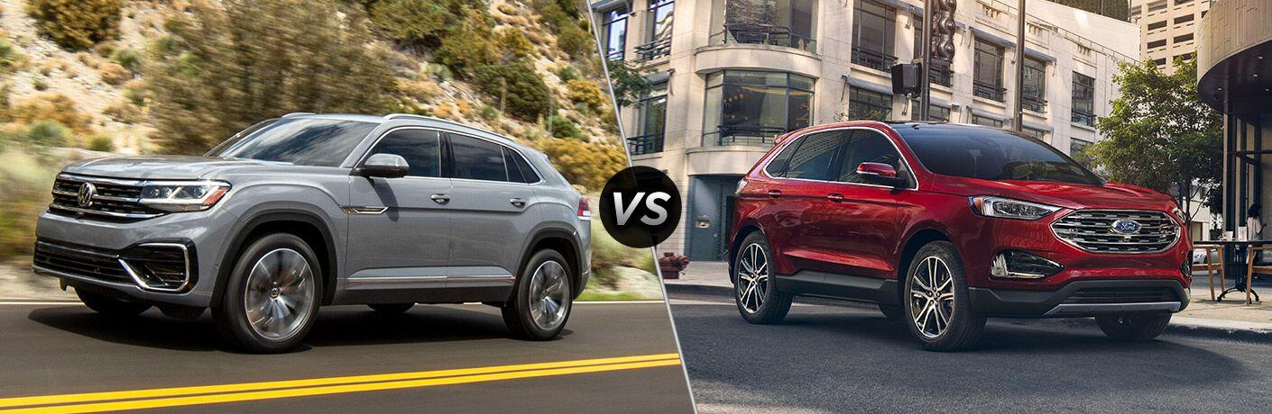 2020 Volkswagen Atlas Cross Sport vs 2020 Ford Edge