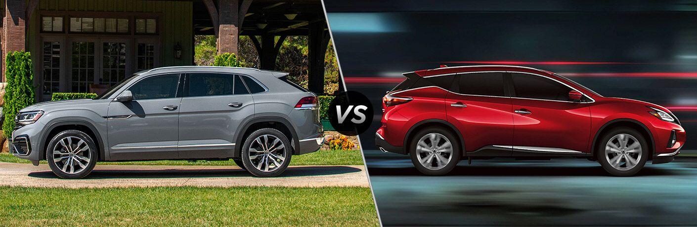 2020 Volkswagen Atlas Cross Sport vs 2020 Nissan Murano