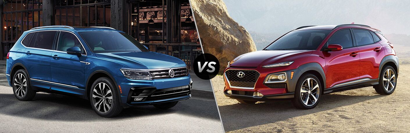 2020 Volkswagen Tiguan vs 2020 Hyundai Kona