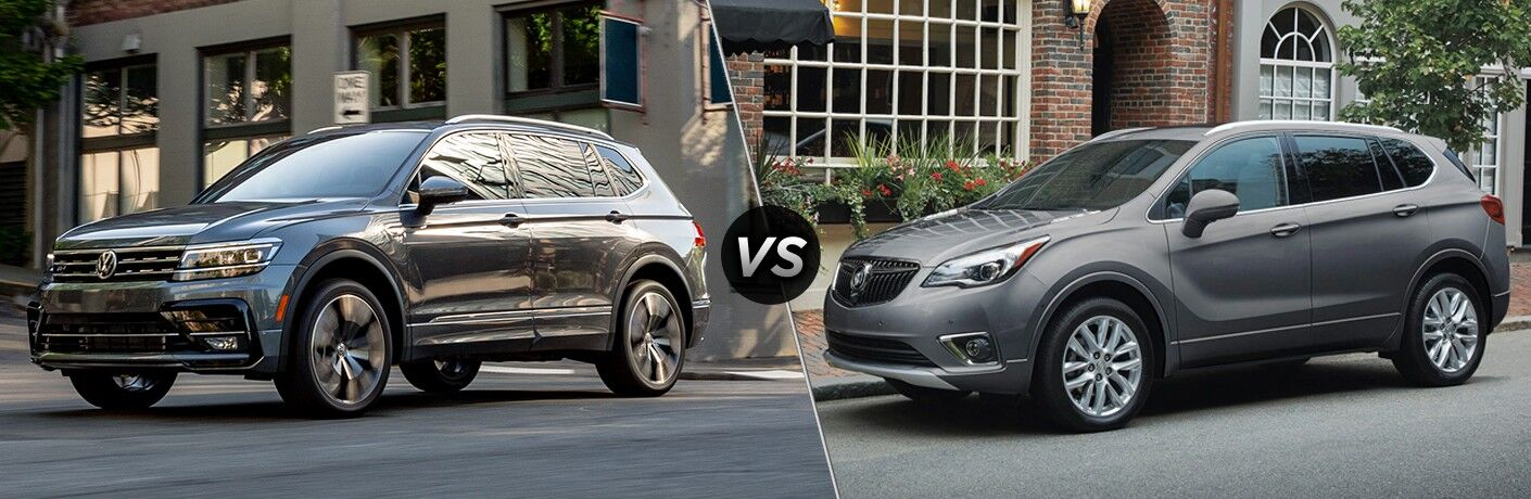 2020 Volkswagen Tiguan vs 2020 Buick Envision