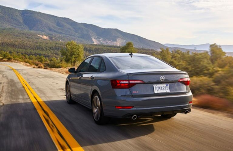 2020 Volkswagen Jetta GLI rear in gray