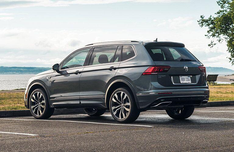 2021 Volkswagen Tiguan rear in gray