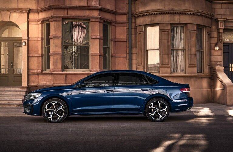2021 Volkswagen Passat side profile