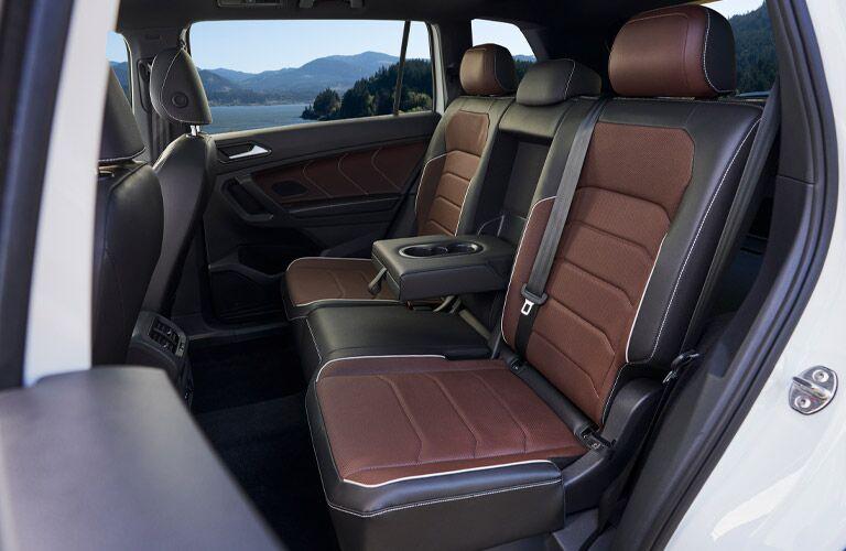 Back seats of the 2022 Volkswagen Tiguan