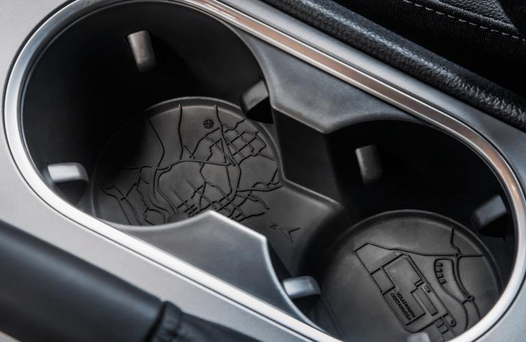 Cupholders inside the 2022 Volkswagen Passat