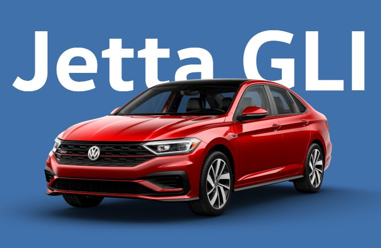 Volkswagen Jetta GLI front and side profile