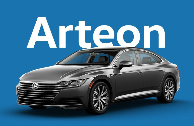 Volkswagen Arteon front and side profile