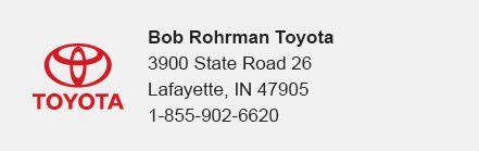 Bob Rohrman Toyota
